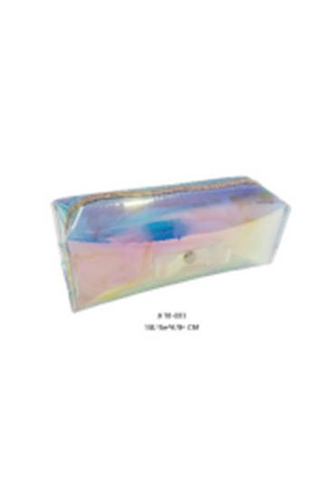 2018 New Arrival Holographic TPU Cosmetic Bag &Pencil Bag