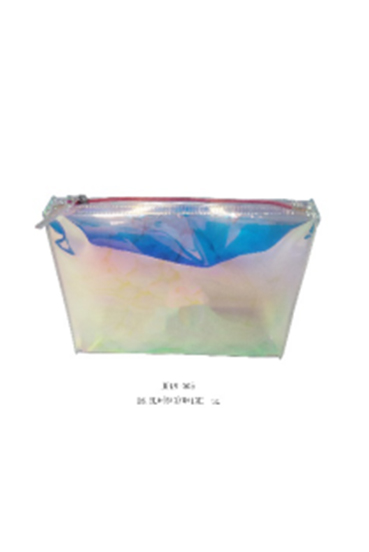 2018 New Fashion Holographic PVC Cosmetic Pouch