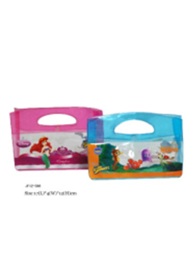 PVC Cosmetic Bag with Full Page Printing