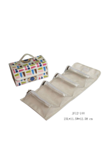 TPU  Toiletry Bag with Four Separations