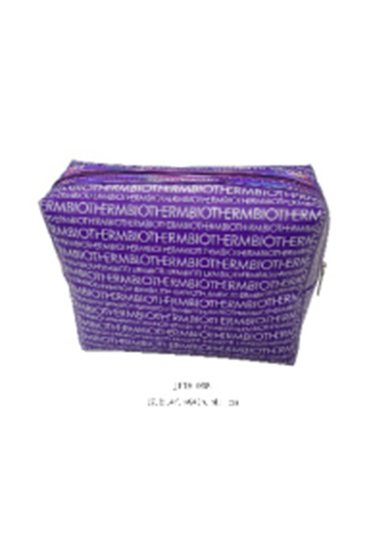 Purple EVA Cosmetic Bag with Full Printing for Women