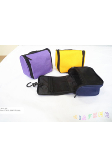 600D Toiletry Bag Cosmetic Makeup Bag with Hook