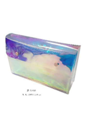 New Fashion Holographic Plastic PVC Cosmetic Bag